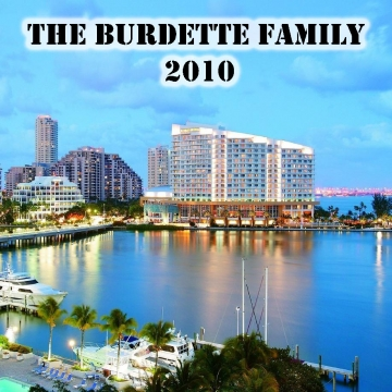 The Burdette Family 2010