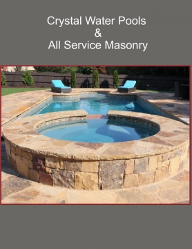 Crystal Water Pools & All Service Masonry