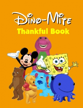 Dino-Mite Thankful Book