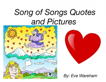 Song of Songs Quotes and Pictures