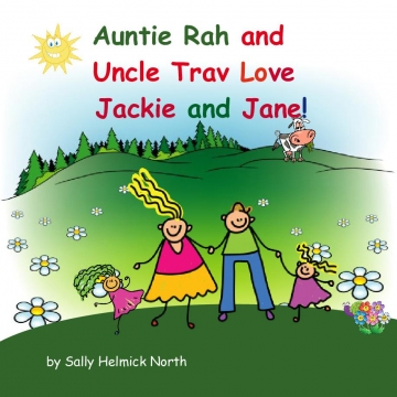Auntie Rah and Uncle Trav love Jackie and Jane!