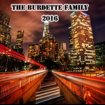 The Burdette Family 2016