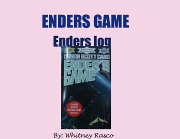 Log book Enders Game