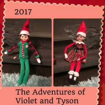Violet and Tyson 2017