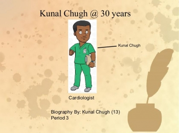 Kunal Chugh's Biography