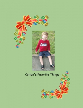 Colton's Favorite Things