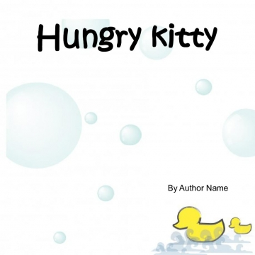 Hungry kitty