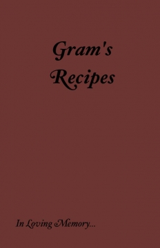 Gram's Cookbook