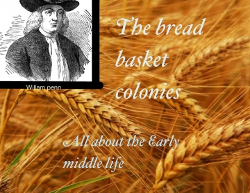 The bread basket colonies