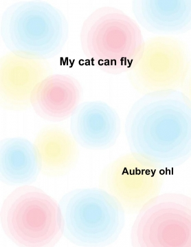 My cat can fly