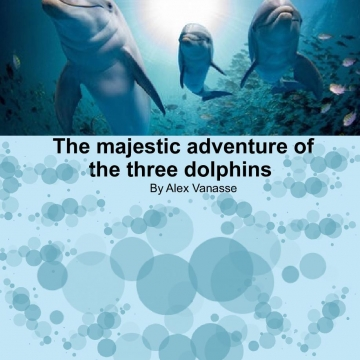 The majestic adventure of the three dolphins