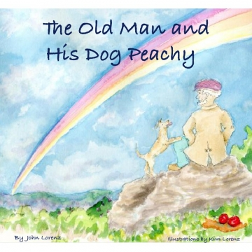 The Old Man and His Dog Peachy