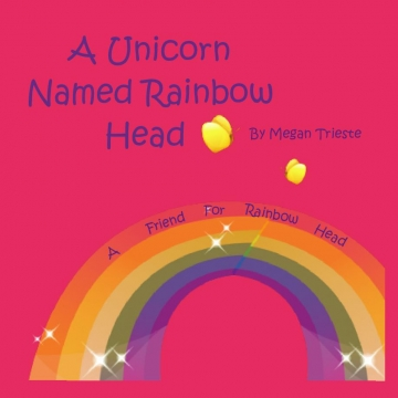 A unicorn named Rainbow Head