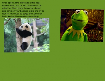 The journeys of panda and frog