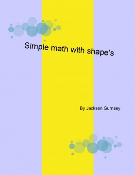 Simple math with shapes