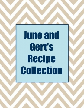 june and gert s recipes cover page book 722505 bookemon