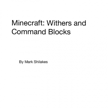 Minecraft: Withers and Command Blocks