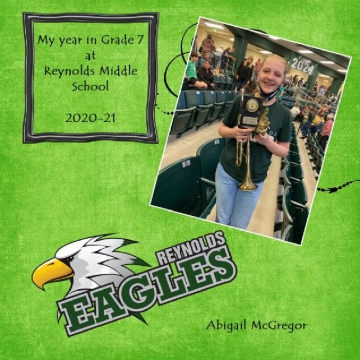 2021-22 - My Year in Grade 8 at Reynolds Middle School