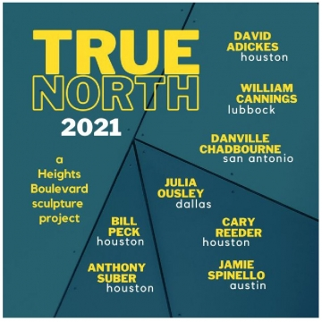 True North 2021, a Heights Boulevard sculpture project