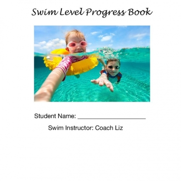 Swim Level Progress Book