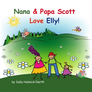 Nana & Papa Scott Love Elly!