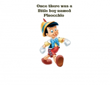 Pinochio the real boy