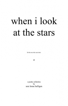 when i look at the stars