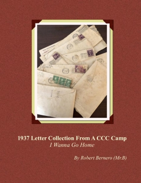 1937 Letter Collection From A CCC Camp