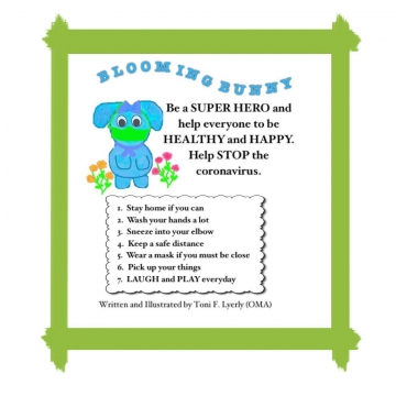 HELP BLUE BUNNY TO STAY HEALTHY