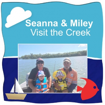 Seanna & Miley's Creek Adventure