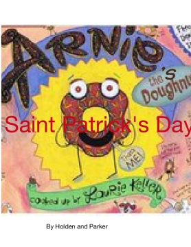 Arnie the doughnut's Saint Patrick Day