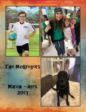 The McGregors (March - April 2017)