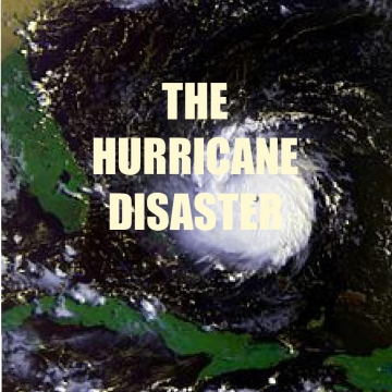 THE HURRICANE DISASTER