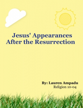 Jesus' Appearances After the Resurrection