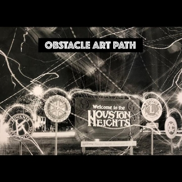 Obstacle Art Path