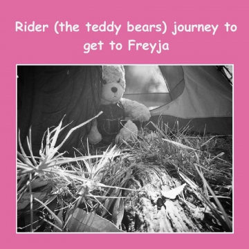 Riders journey to get to his Freyja