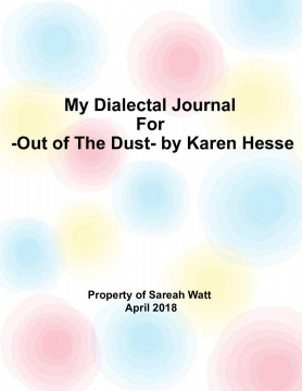 Dialect Journal