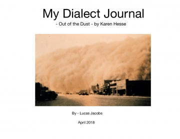 My Dialect Journal
