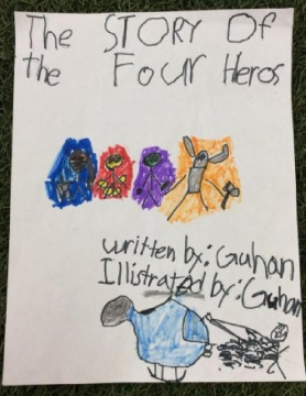 The story of the 4 heros