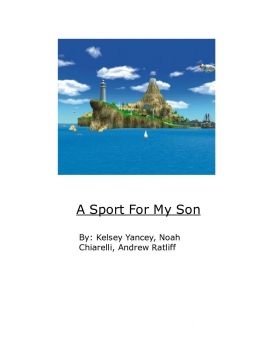 A Sport for My Son