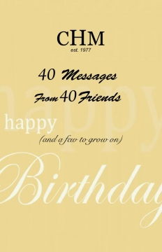 40 birthday messages from 40 friends