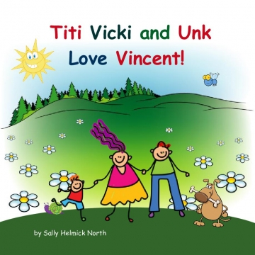 Titi Vicki and Unk Love Vincent!