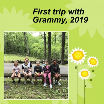 First trip with Grammy Summer of 2019