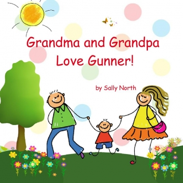 Grandma and Grandpa Love Gunner!
