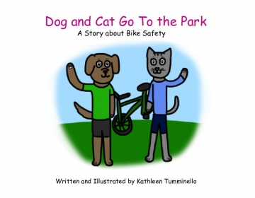 Dog and Cat Go to the Park