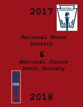 National Honor Society and National Junior Honor Society of 2017-2018