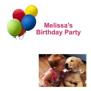 Melissa's Birthday Party