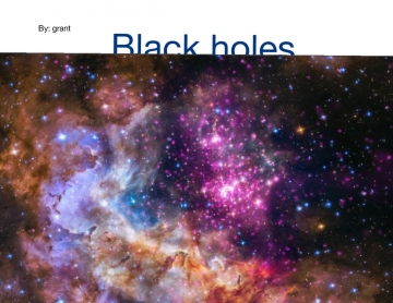 Black holes in action
