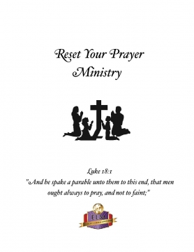 Reset Your Prayer Ministry