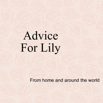 Lily's book of advice
